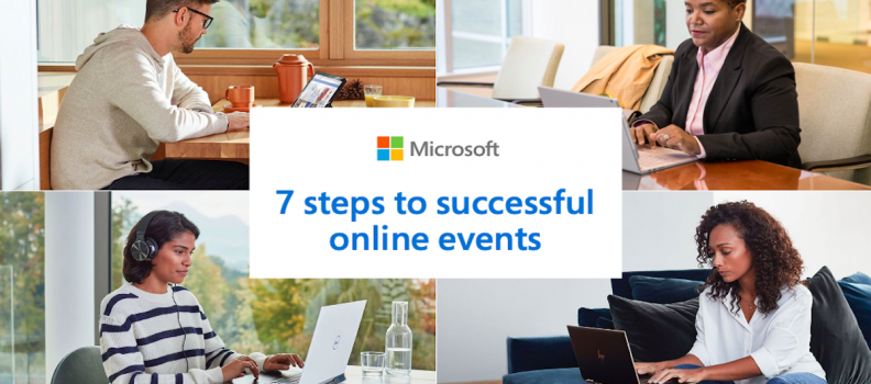 7 steps to successful online events