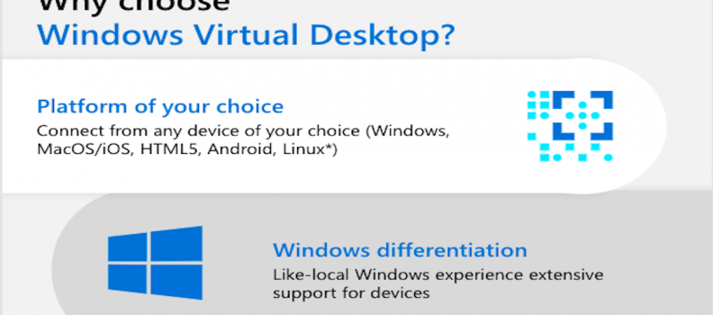 Why choose Windows Virtual Desktop?