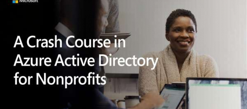 Crash Course in Azure Active Directory for Nonprofits
