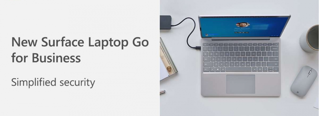 Give IT peace of mind with Surface Laptop Go