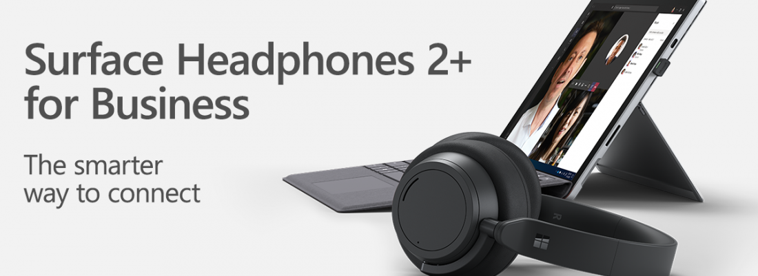 Help your teams find their focus with Surface Headphones 2+