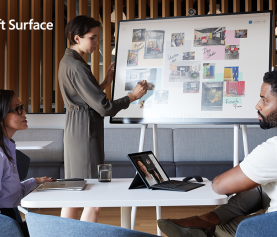 Build a secure, productive hybrid workplace with Surface for Business