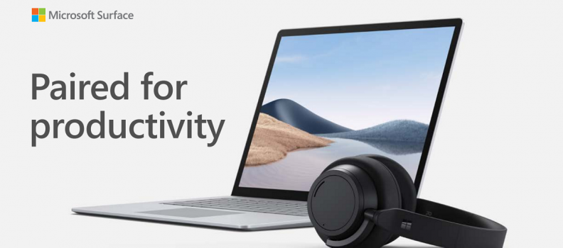 Introducing Microsoft Surface Laptop 4 and Surface Headphones 2+: Power, productivity, and peace of mind for all