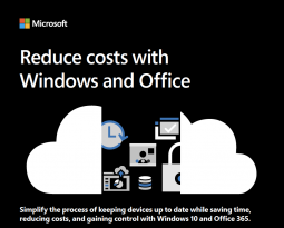 Reduce costs with Windows and Office